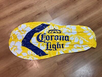 CORONA LIGHT BEER FLIP FLOP INFLATABLE BLOW UP BAR SIGN POOL Party Decor 32""