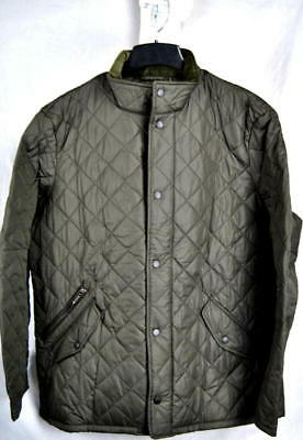 Barbour CHELSEA SPORTSQUILT Quilted Sports JACKET Olive AUTHENTIC Mens XXL New