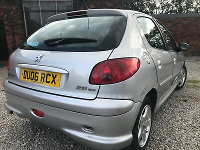 2006 Peugeot 206 Verve 1.4 Hdi Diesel 5 Door Mot April 2018 96K Miles Clean Car