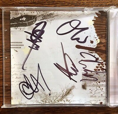 Bring Me the Horizon - Signed Edge of Your Seat CD EP BMTH Drop Dead Oli Sykes