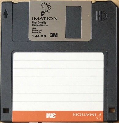 """Imation / 3M - 1.44Mb 3.5"""" DSHD Floppy Disks - 10 available sold in units of 1"""
