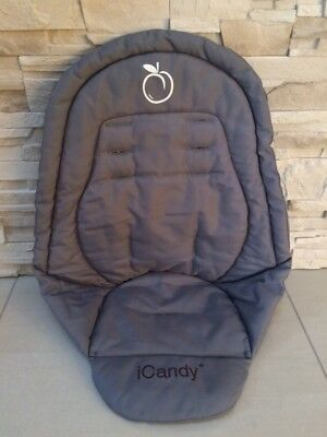 Genuine Icandy Main Seat Unit Liner Grey