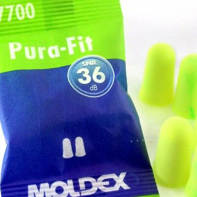 Moldex Soft Foam Ear Plugs Pura-Fit 36dB Noise Reduction - Same Day Posting