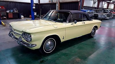 1964 Chevrolet Corvair Monza Convertible 1964 Corvair Monza Convertible factory Automatic Solid Must See
