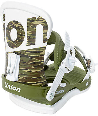 2018 Union Contact Camo Snowboard Binding Size Large