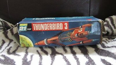 Thunderbirds Thunderbird 3 Boxed Gerry Anderson 1960's In Poor Condition