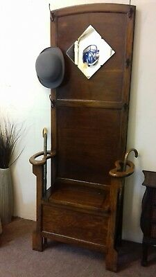 Vintage Coat Hat Umbrella Hall Stand