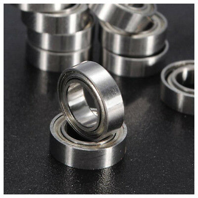 10pcs Miniature Sealed Metric Radial Ball Bearing Model: MR106-ZZ 6x10x3Mm S8D0