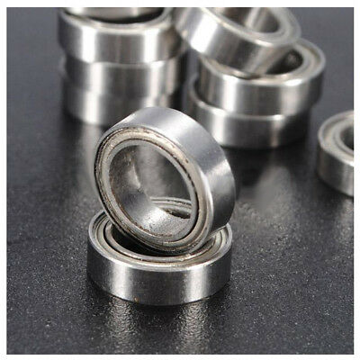 10pcs Miniature Sealed Metric Radial Bearing Model: MR128-ZZ 8x12x3.5Mm L1H O4M8