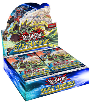 Yu-Gi-Oh! Spirit Warriors - Booster Box - 24 Booster Packs Pre-Order Ships 11/16