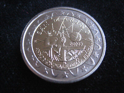 "Mds San Marino 2 Euro 2005 ""galileo Galilei - Internationales Jahr Der Physik"""