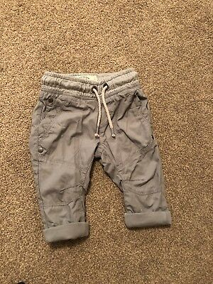 Next Baby Boy Grey Trousers 3-6months NEW