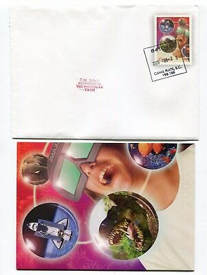 Canada Stationery 2000 Milennium Issue IMAX Private Printing Cover & Card Used