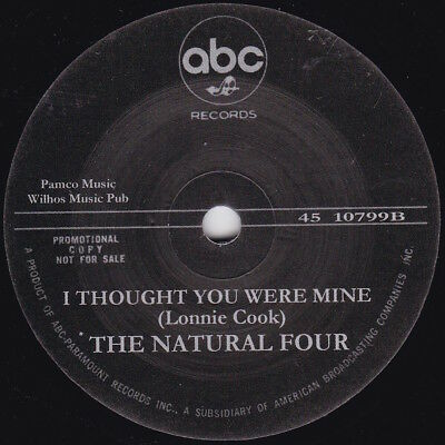 Northern Soul--NATURAL FOUR--I Thought You Were Mine / EDDIE BISHOP--Call Me--
