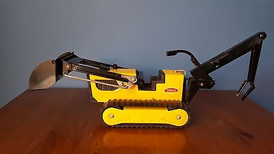 Retro Vintage Tonka Trench Digger/Lifter Tracked Metal Body 1970s
