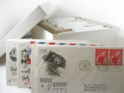 Lot Of Over 250 U.S. First Day Of Issue Stamp Cover C1940'S-50'S