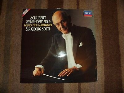 SCHUBERT - Symphony No.9 - Vinyl Album.