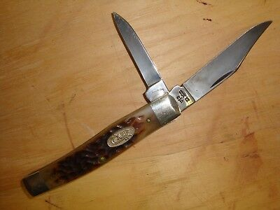 Case Xx Usa Jack Knife, Jigged Bone, Vintage, 6292 Carbon Steel