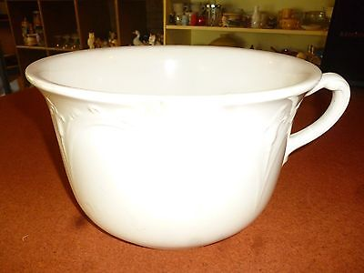 USED Vintage E.P.P. Co China White Stone Chamber Pot