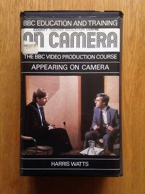 Appearing On Camera - BBC Education And Training VHS Videos