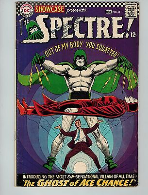 Showcase #64 (Sep-Oct 1966, DC)! FN6.5+! Silver age DC KEY! 5th Spectre! LOOK!