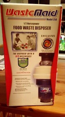 WasteMaid food waste disposer model 258 BRAND NEW