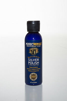Music Nomad Silver Polish for Silver & Silver Plating on Flute etc