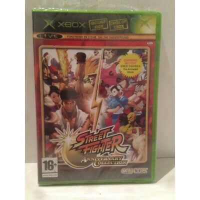 Street Fighter Anniversary Collection Microsoft Xbox Pal