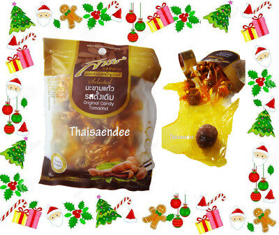 sarach fruit snack natural tamarind seedless candy christmas party travel gift