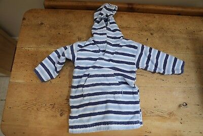 JoJo Maman Bebe childs Towelling Robe/dressing gown 2-3yrs 100% cotton £25rrp NR