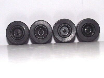 SCALEXTRIC  WHEELS  AND  TYRES  x 4.