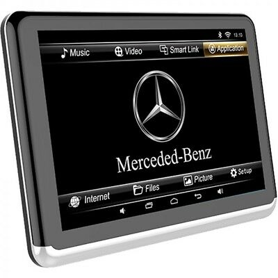 """10.1"""" Mercedes-Benz Headrest DVD Player And Android 6, Luxury Designed."""