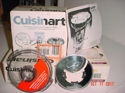 Cuisinart Dlc-Propk8 - Incl Dlc-842 2Mm Blade & Dlc-806Gtx Clear Grey Lid - New