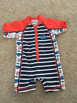 Boys Swimsuit 3-6 Months with swim nappy