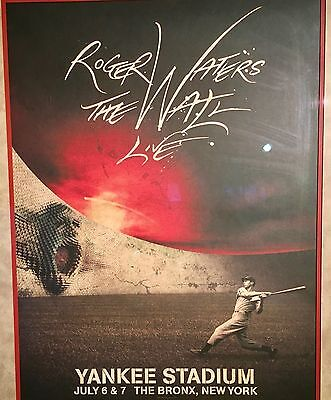 Roger Waters The Wall Live Limited Edition Poster and Event T Shirt