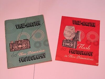 Viewmaster Personal Stereo Camera and Flash Attachment Manuals