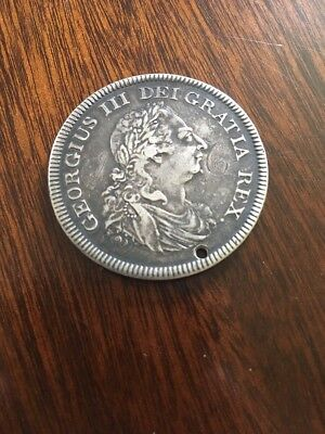 1804 George III Silver Bank Of England Dollar / 5 Shillings / Crown