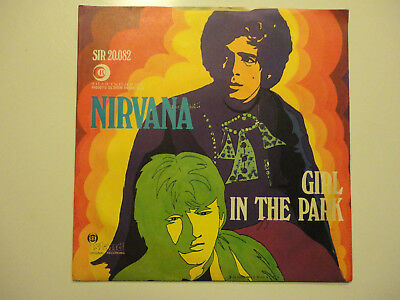 45 Nirvana 'rainbow Chaser / Girl In The Park' Rare Psychedelic Rock 1968