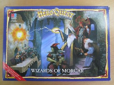 Mb Games Heroquest - Wizards Of Morcar - 1991 - Republic Of Ireland