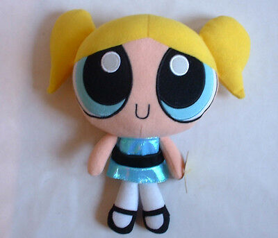 2001 vintage Powerpuff Girls TALKING BUBBLES PLUSH DOLL Cartoon Network TV