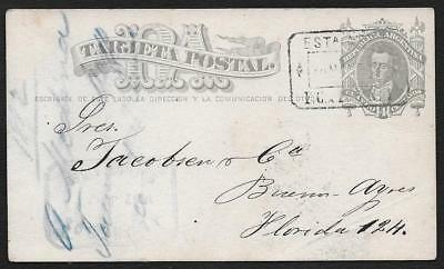 Argentina Argentina Cordoba 1882 Buenos Aires Lettre Cover