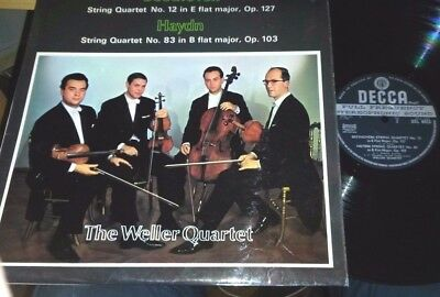 SXL 6423 Beethoven STRING QUARTET No.12 Weller Quartet UK  WB ED1 Decca  EX/EX