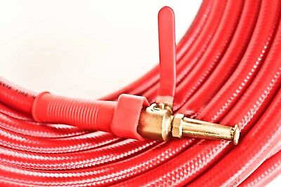 """Fire Hose 20mm , 36 Meter Long available in 2 types of Nozzles """"Fire Hose"""""""