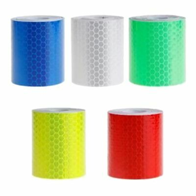 5cm x 3 meters Reflective film Safety Warning Tape Reflective Tape Self adh F7U5