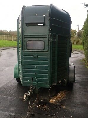 Rice Double Horse Box Trailer Fits 2 16.2hh Conversion Project?