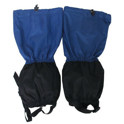 1 pair of Waterproof Leg Guards with Zip Closure for Hiking Climbing. W9E5 R4E1