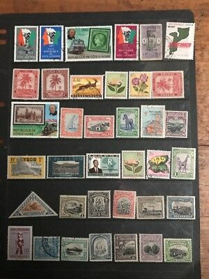 stamps African Mixture - MH and Used - Lot 78