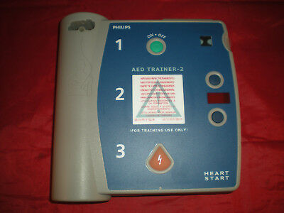 Laerdal Philips AED Trainer 2 Heartstart M3752A Unit ONLY NO PADS