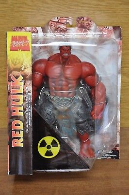 Marvel Select Red Hulk Diamond Toys Special Collector Action Figure - Free Ship