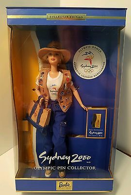 Barbie Olympic Pin Collector Sydney Australia 2000 New